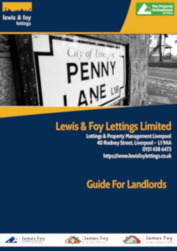 Our Guide For Landlords in Liverpoool