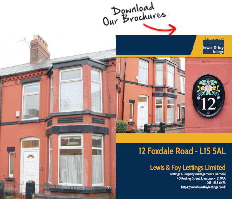 Brochure for Foxdale Road, Liverpool